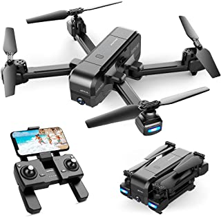 SNAPTAIN SP510 2.7K GPS Drone with Camera for Adults UHD Live Video Foldable Quadcopter for Beginners with GPS, Follow Me, Point of Interest, Waypoints, Long Control Range, Auto Return