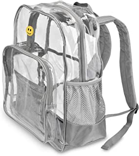 Kcliffs Heavy Duty Clear Backpack