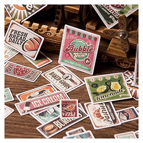 Kolorowy 33 sztuk Vintage Europejski i Amerykański Plakaty Naklejki Bill DIY Scrapbooking Album Diary Mobile Komputer Dekoracyjne Naklejki .Obdarzony wyobraźnią