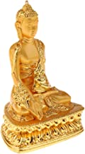 Statue Sculptures 1Pc Meditation Buddha Statue Religion Sculpture Buddhist Pharmacist Figurine