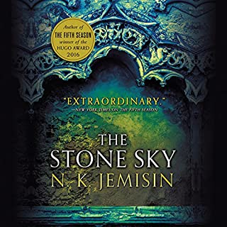 The Stone Sky                   Written by:                                                                                                                                 N. K. Jemisin                               Narrated by:                                                                                                                                 Robin Miles                      Length: 14 hrs and 16 mins     148 ratings     Overall 4.6
