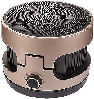 GYF Calefactor eléctrico Pie Calefactor Eléctrico Baño Casa Calentador Mudo El Ahorro De Energía Calentamiento Rápido Inodoro Calefacción Integral Marrón