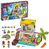 LEGO Friends Casa sulla Spiaggia con Pedalò e Mini Bamboline di Andrea e Mia, Giocattoli per Bambini di 6+ Anni, 41428