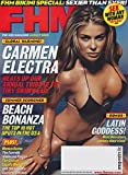 FHM, For Him Magazine August, 2003 Carmen Electra Cover and pictorial, Monica Keena and Mayra Veronica pictorials