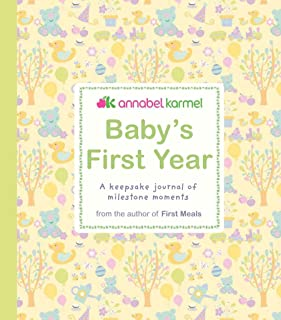 Baby's First Year: A Keepsake Journal of Milestone Moments