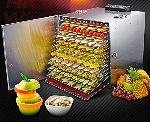 Lowest Prices! Fruit & Vegetable & Food Pet Food Drying Machine 110V 16 Layers DIY Machine#239319