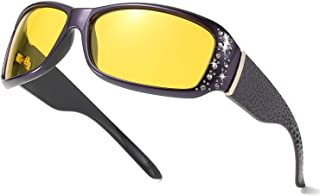 Women's Night-Vision Driving Glasses, Polarized Fashion...