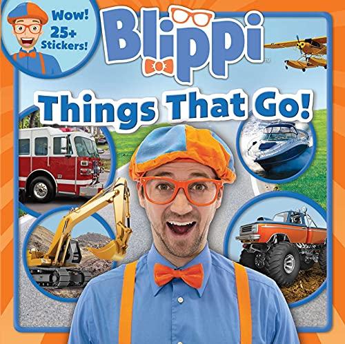 Blippi: Things That Go! (8x8)