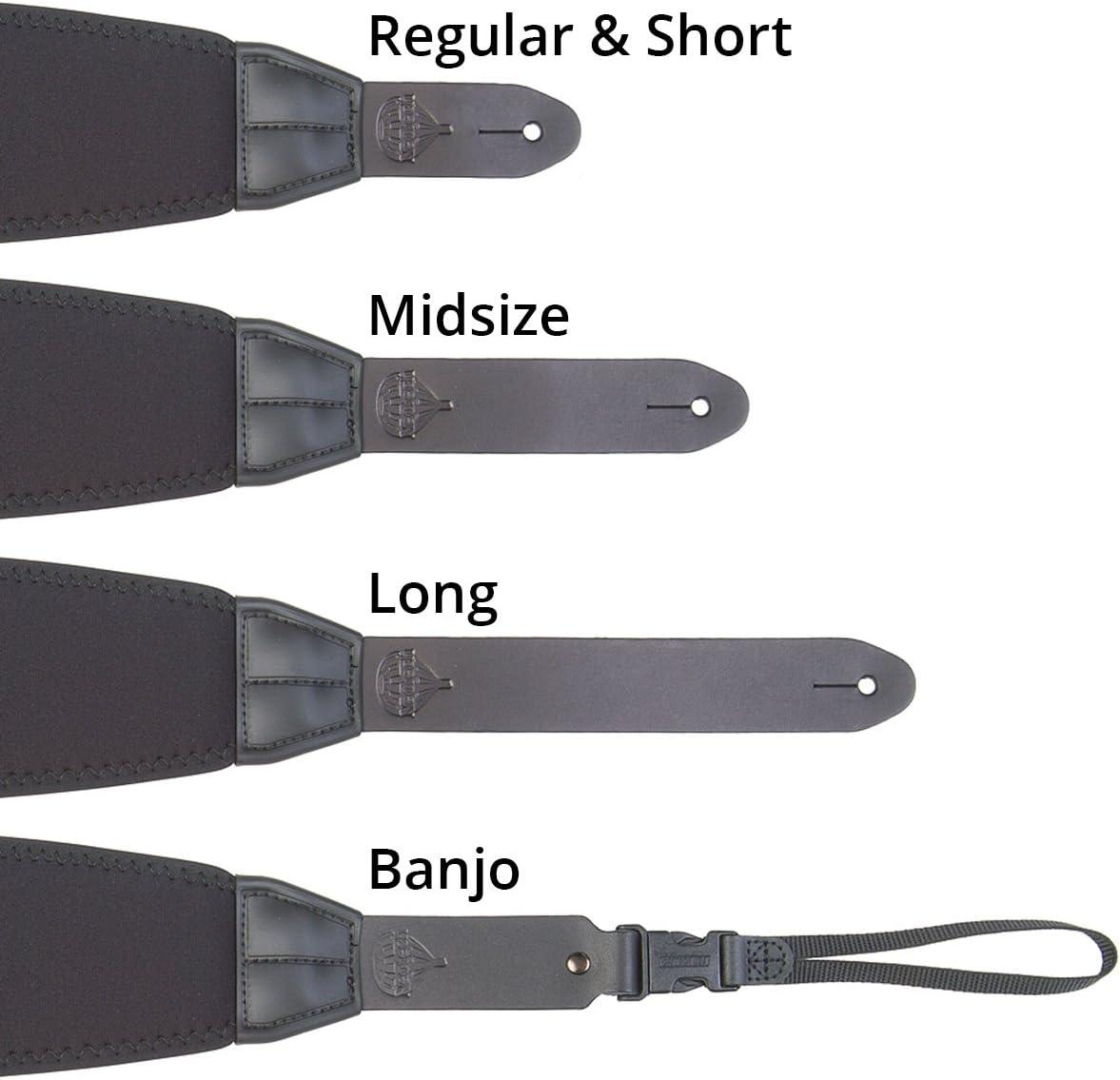 Neotech Mega Strap-Regular, Black (8301052): Musical Instruments