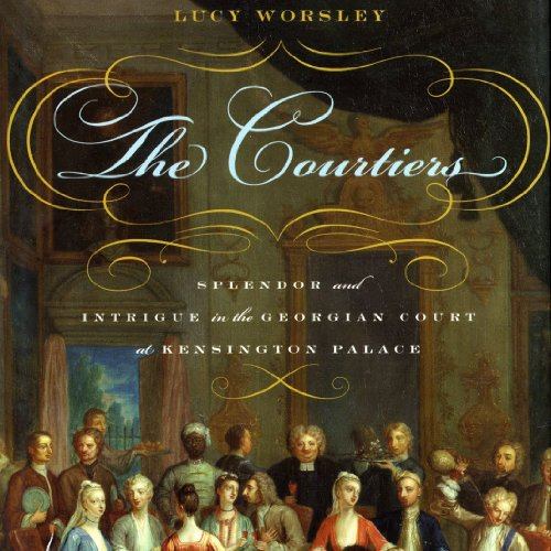 The Courtiers audiobook cover art