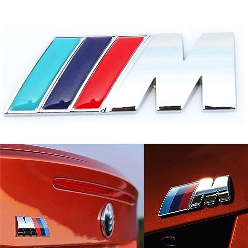 BMW M-TECH SPORT 3D Chrome Vehicle Emblem Badge Logo Decal Bumper Fender Rear