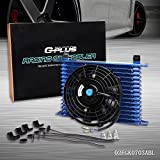 7 inch auto cooling fan - New 15 Row AN10 Universal Engine Transmission Oil Cooler with 7