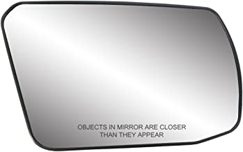 Fit System 80214 Nissan Altima 2.5L Engine Coupe/Sedan Right Side Power Non-Foldaway Replacement Mirror Glass with Backing Plate