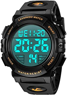 Mens Digital Watch - Sports Military Watches Waterproof Outdoor Chronograph Military Wrist Watches for Men with LED Back L...