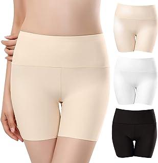 UMIPUBO Bragas Mujer Sin Costura Boxer Short Leggings Cortos Basic Long Pantalon Falda Leotardos de Seguridad Ropa Interio...