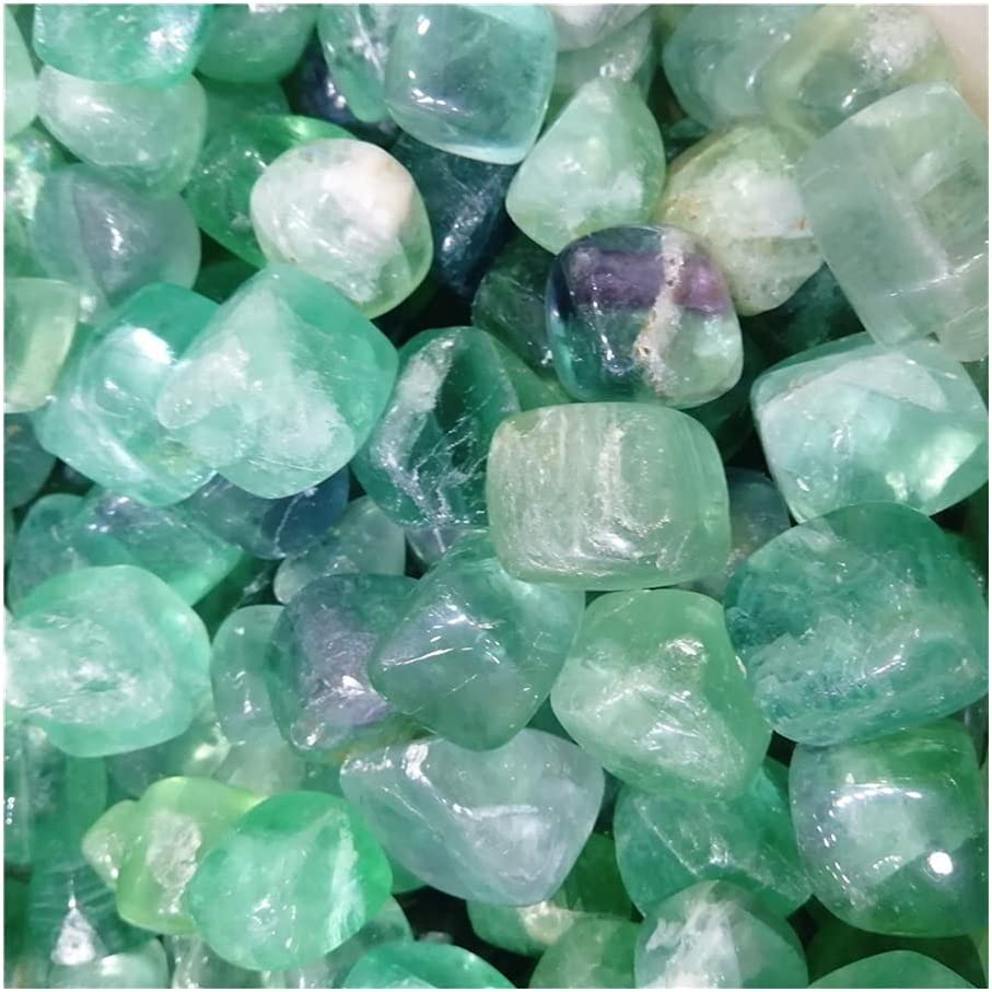 Natural Manufacturer regenerated product Green Fluorite Cheap super special price Cube Gravel Specime Crystal Polished