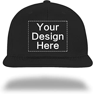 Custom Baseball Cap Snapback Hiphop Hats Design Your Text Name or Logo
