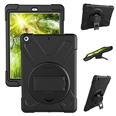 New iPad 2018 9.7 inch Case,[Only Fit A1822 A18...