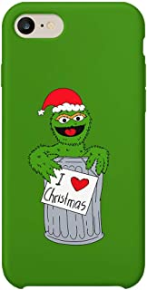 Sesame Street Oscar Green Grouch Christmas Trash Can_A1131 Case for Huawei P20, Protective Phone Mobile Smartphone Case Cover Hard Plastic for Compatible with Huawei P20