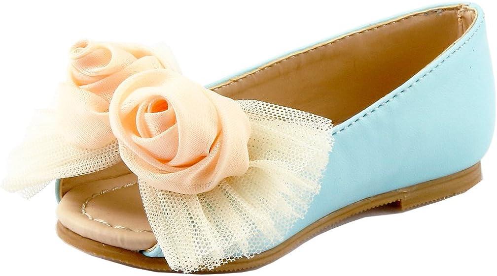 The Doll Luxury goods Maker White Peep 25% OFF Flat Toe