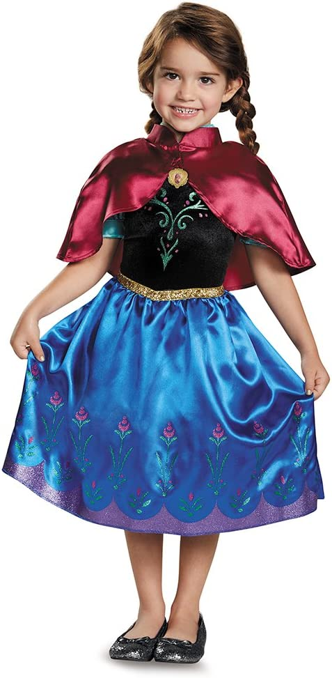 Anna Traveling Toddler Classic Costume, Small (2T) : Clothing, Shoes & Jewelry