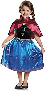 Anna Traveling Toddler Classic Costume, Medium (3T-4T)