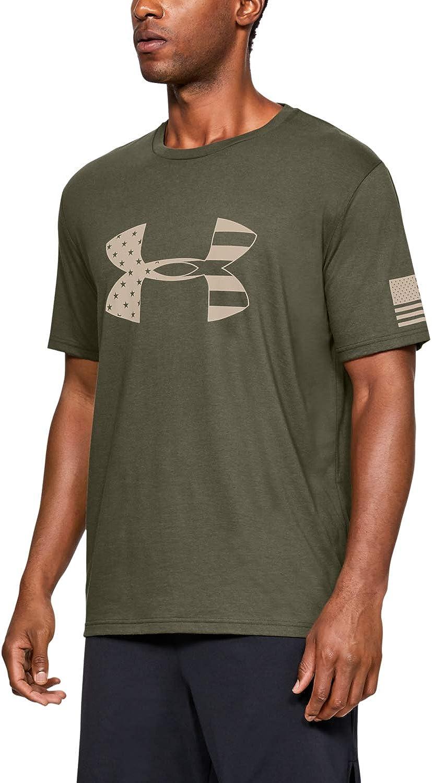 Under New product! New type Armour San Antonio Mall Men's Freedom Tonal T-Shirt Logo Flag Big