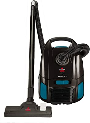 Bissell CANNISTER PowerForce Bagged Canister Vacuum, 2154W, Black