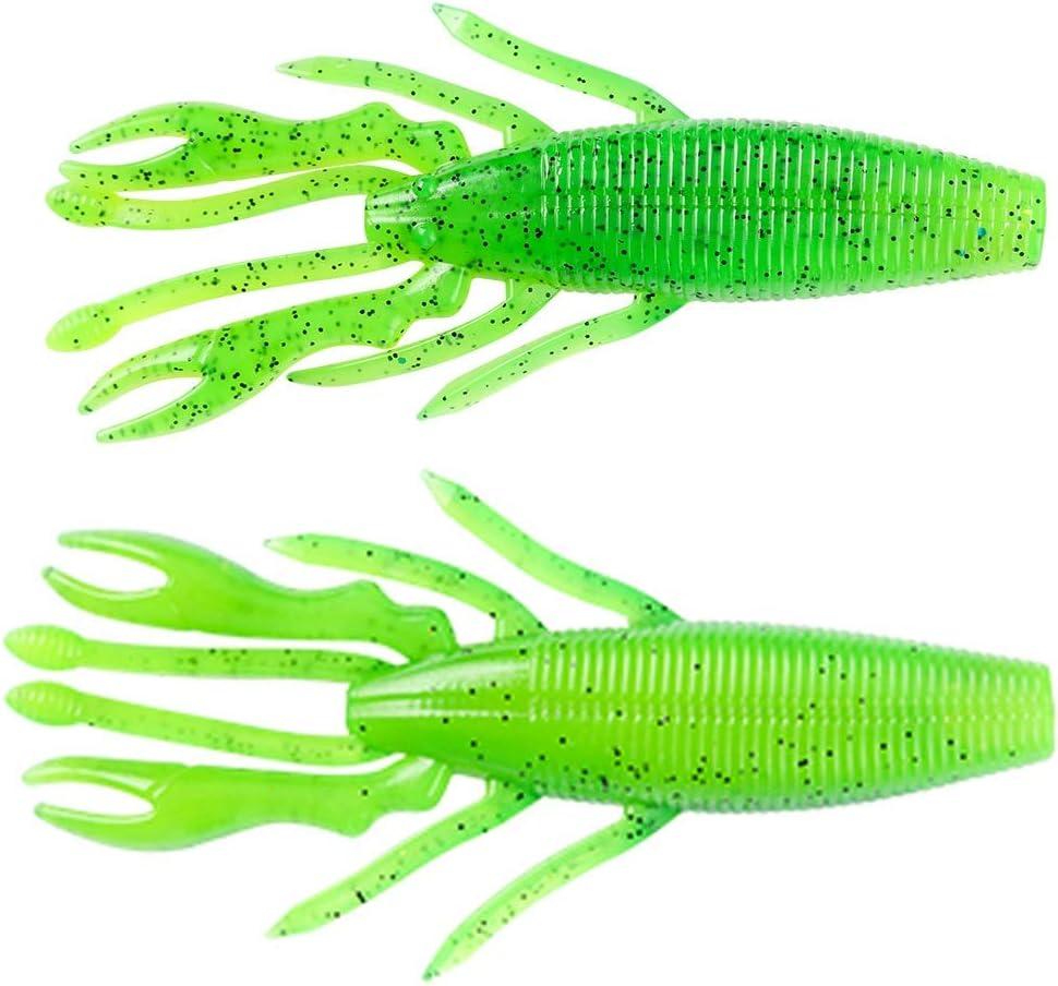 YUNSI Fishing Accessories Sets 6pcs Shrimp Nippon regular agency Set Crayfish Ham Fake Over item handling