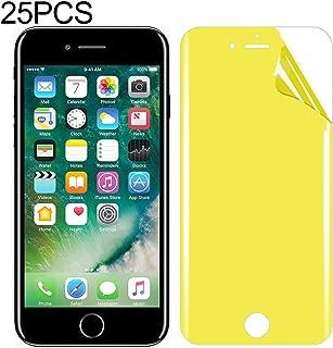 LIJINGFANG 25 PCS For iPhone 7/8 Soft TPU Full Coverage Front Screen Protector