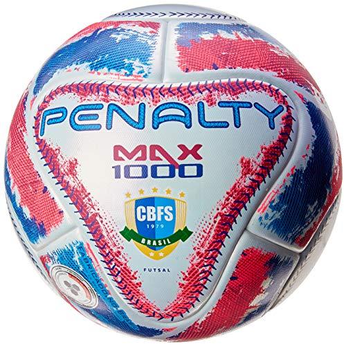 Bola Futsal Max 1000 IX Penalty 63,5cm Branco
