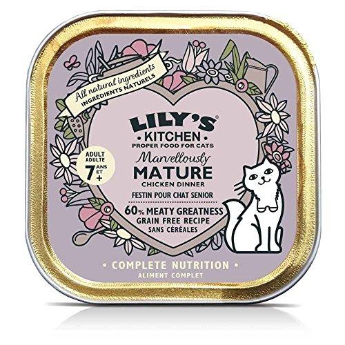 Lily's Kitchen - Barquette Festin au Poulet pour Chats Senior - 85g