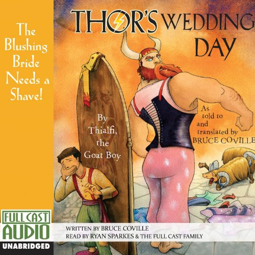 Thor's Wedding Day audiobook cover art