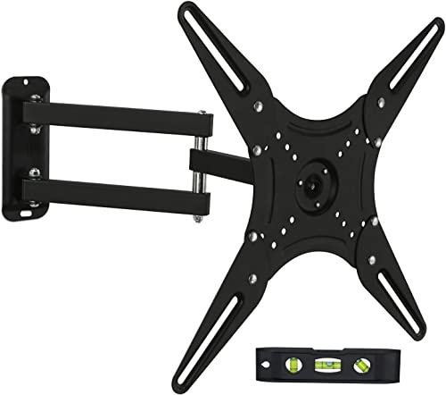 Mount-It! Full Motion TV Wall Mount | Adjustable Wall Mount for Large Flat Screen TV Display | TV Wall Bracket with T...