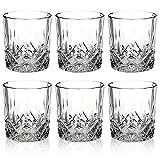 Queensway - Set di 6 bicchieri da whisky in confezione regalo, 6x Pompeii Whiskey Tumblers