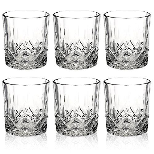 Queensway Whiskygläser, in Geschenkbox, 6 Stück, 6x Pompeii Whiskey Tumblers