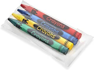 CrayonKing 50 4-Packs of Crayons in Cello Bags