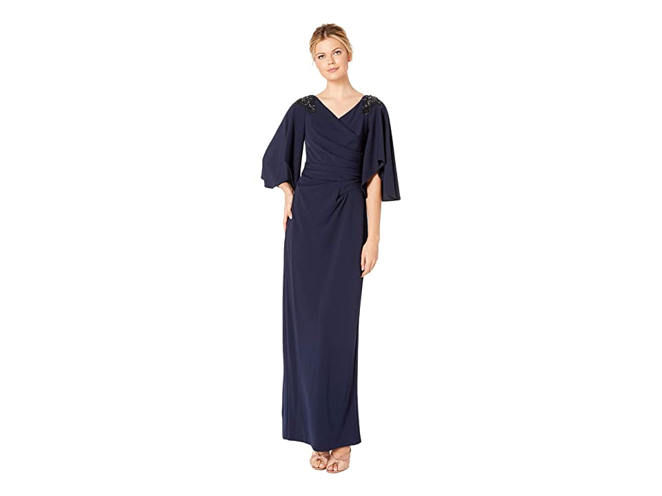 Adrianna Papell Long Dress (Ink) Women