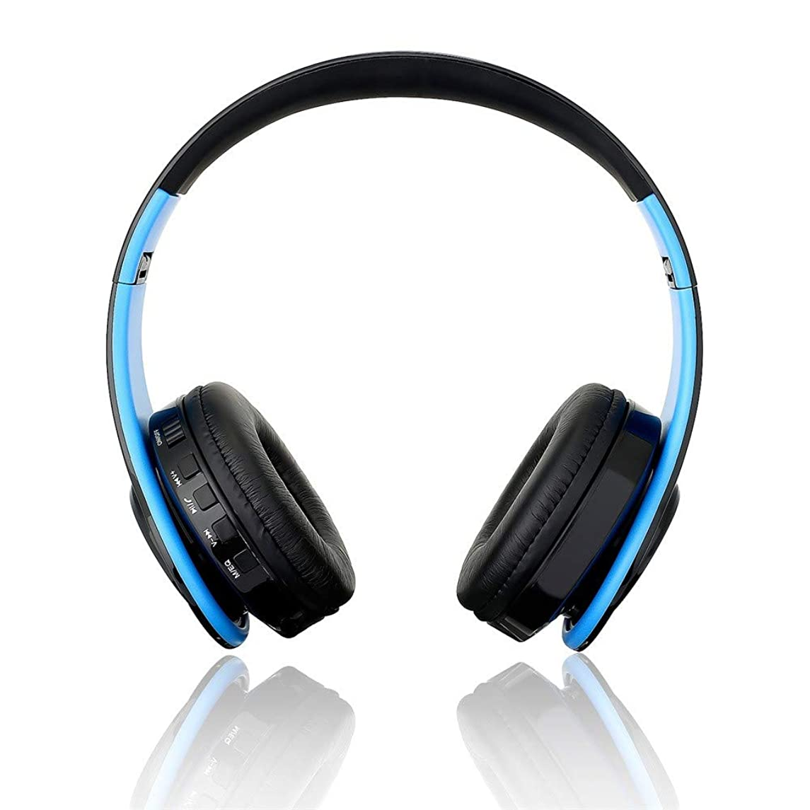 Aobiny New Headphones Bluetooth Headset Earphone Wireless Headphones Stereo Foldable Sport Earphone Microphone Headset Handfree MP3 Player