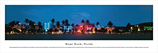 Miami Beach, Florida - Unframed Blakeway Panoramas Print