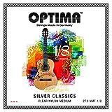 オプティマ(OPTIMA)ギター弦 SILVER CLASSICS Set (シルバー クラシックス) 270NMT 1/8