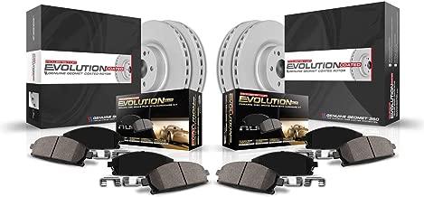 Power Stop CRK6495 front and rear Z17 Evolution Geomet Coated Brake Kit