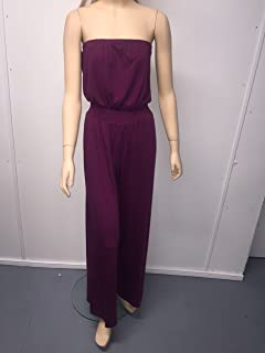 MSC Strapls Jumpsuit Purple Pepper, XS,S,XXL