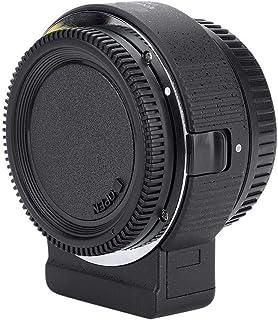 Wendry Adaptador automático de Montaje de Lente versátil, Commlite ENF-E1 Pro V06 Adaptador de Montaje de Lente Completamente electrónico para Nikon F Lens a Sony E-Mount
