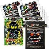 LEGO Ninjago Trading Card Game Serie 3: 50 tarjetas + 5 pegatinas + tarjeta extra limitada (LE17 Gemeiner Böser Skip)