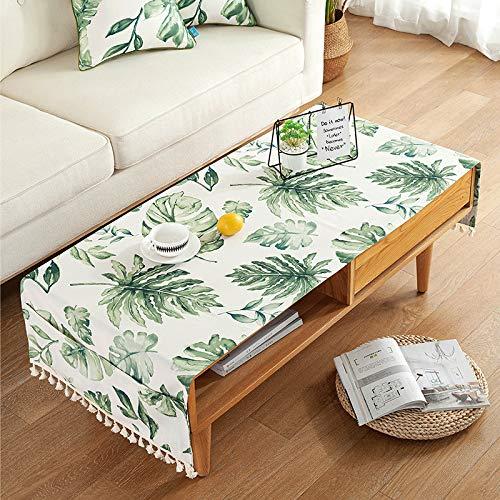 YXDZ American Pastoral Estilo Decorativo Mantel Sala Té Mesa Paño Hogar Tv Gabinete Cubierta Toalla