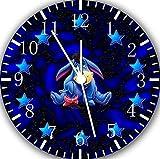 Winnie the Pooh Eeyore Frameless orologio da parete senza confini W375Nice per il regalo o Room Wall Decor