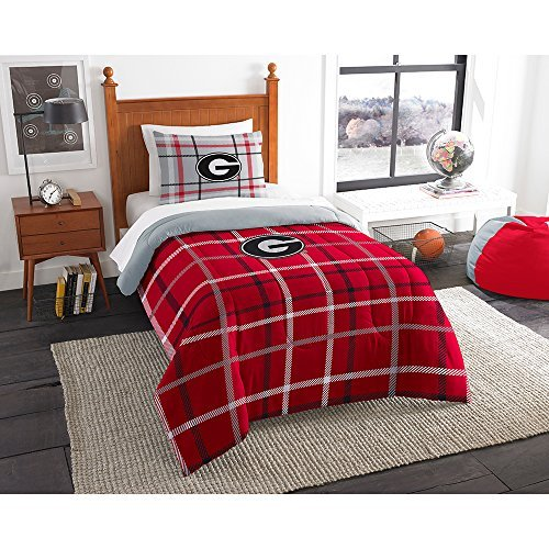 georgia bulldog blanket set - 7