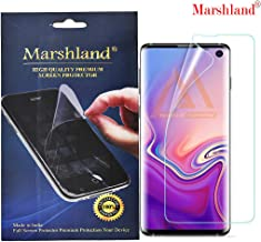 Marshland Front Screen Protector Flexible Design Anti Scratch Bubble Free Screen Guard Compatible for Samsung Galaxy S10 (Transparent)