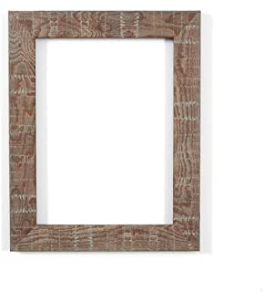 Memory Box Shabby Chic Rustic Wood Grain Picture/Photo/Poster Frame with Perspex Sheet-Moulding 28mm Wide & 16mm Deep - 10